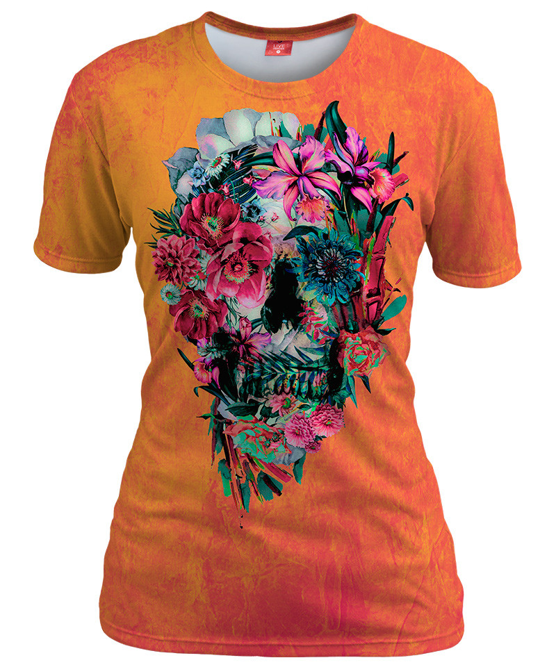 SKULL Womens T-shirt