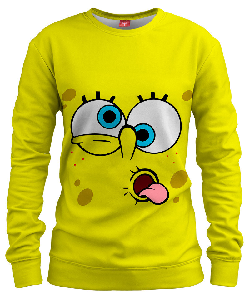 YELLOW FACE Womens sweater