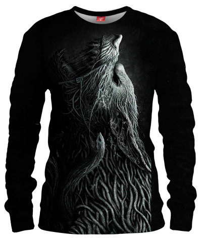 INFESTED WOLF Womens sweater