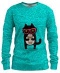 COFFEE KITTY CAT Womens sweater