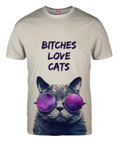 Koszulka BITCHES LOVE CATS