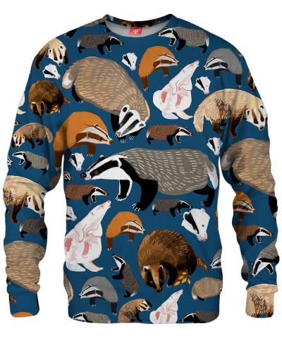 BADGER PATTERN Sweater
