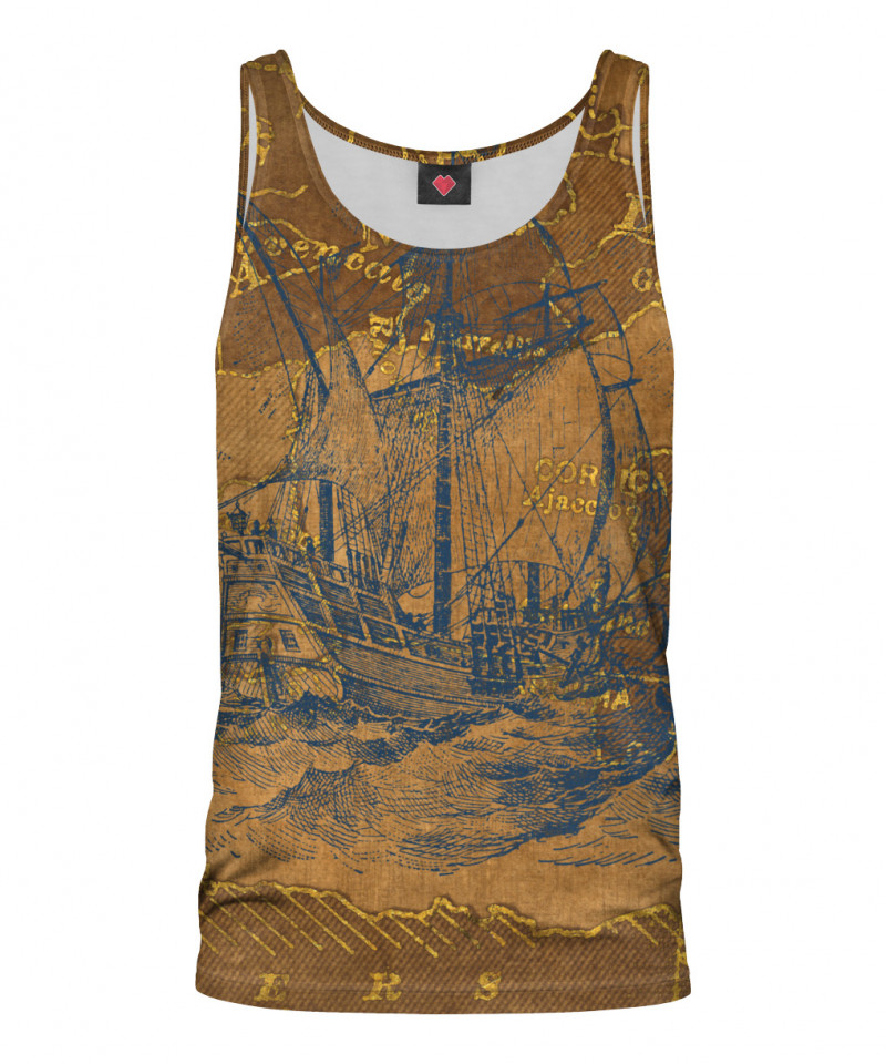 TRAVEL WITH ME Tank Top