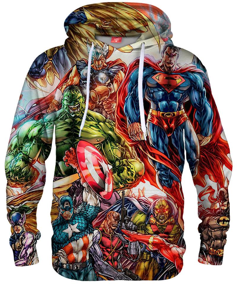 Bluza z kapturem SUPERHEROES