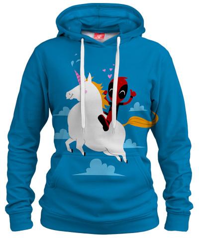 UNICORN POOL Womens hoodie