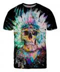 SKULL IN BLACK T-shirt