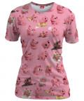 Koszulka damska ROSA THE PIG