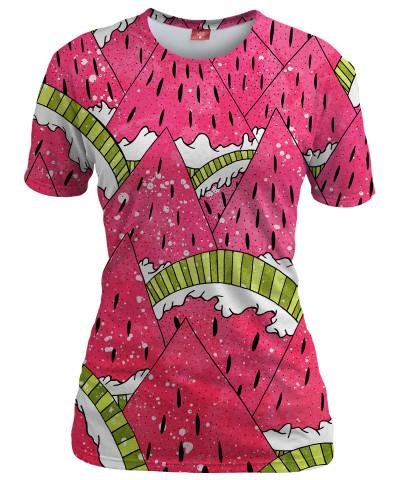 WATERMELON MOUNTS Womens T-shirt