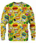 OMG COMICS YELLOW Sweater