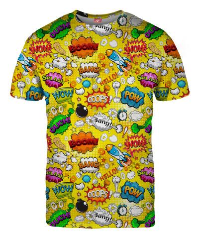 Koszulka OMG COMICS YELLOW