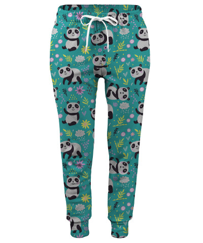 Spodnie damskie PANDA'S PATTERN