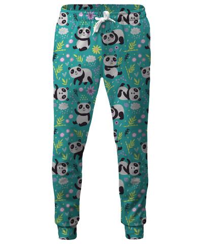 PANDA'S PATTERN Sweatpants