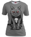 PURRISHER Womens T-shirt