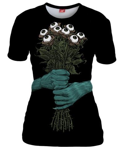 Koszulka damska  DARK BOUQUET