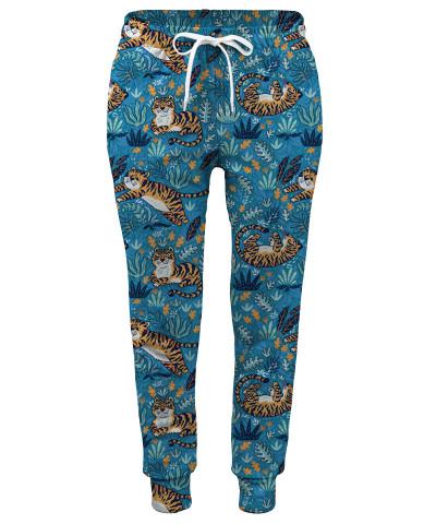 Spodnie damskie CUTE TIGERS PATTERN