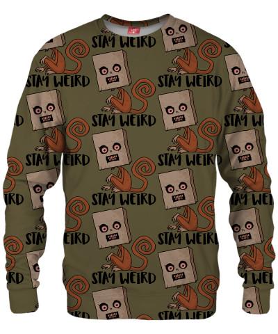 STAY WEIRD Sweater