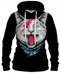 Bluza z kapturem CAT ROCK