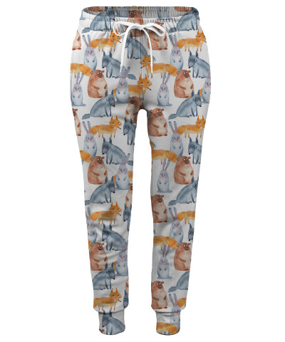 FOREST ANIMALS Womens sweatpants