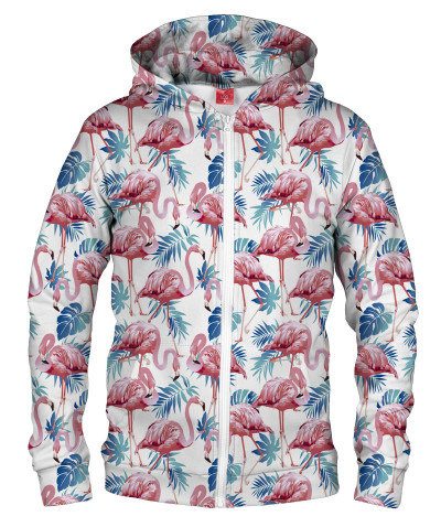 Bluza z zamkiem FLAMINGO PINK