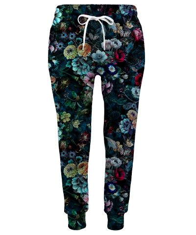 Spodnie damskie NIGHT GARDEN
