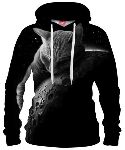 MOON CAT Womens hoodie