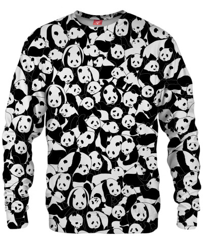 LESS HATE MORE PANDA Sweater