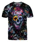 Koszulka VOODOO SKULL FLORAL