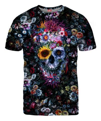 VOODOO SKULL FLORAL T-shirt