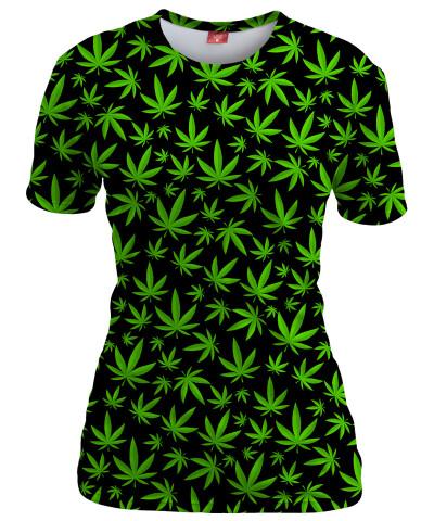 Koszulka damska WEED PATTERN