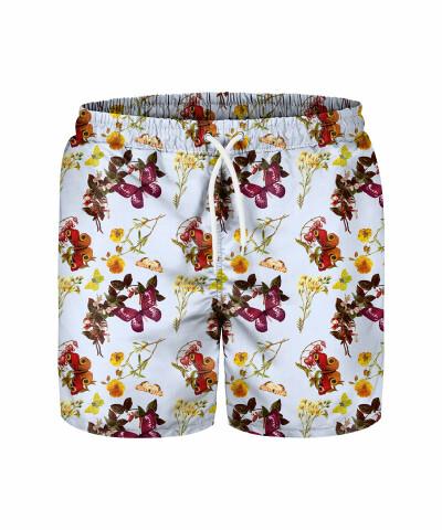 BUTTERFLIES PATTERN Swim Shorts