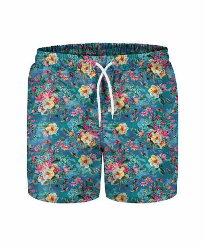 FLORAL OCEAN III Swim Shorts