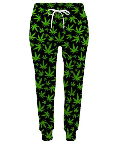 Spodnie damskie WEED PATTERN