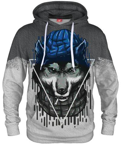 Bluza z kapturem BAD WOLF