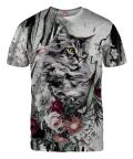 Koszulka CAT IN FLOWERS