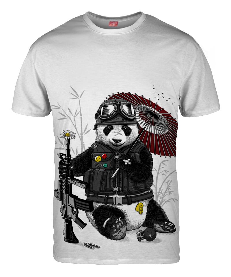 MILITARY PANDA T-shirt