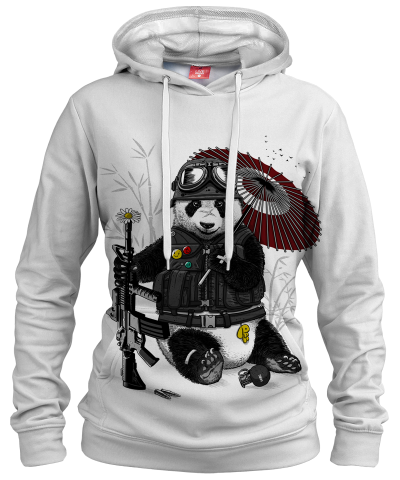 MILITARY PANDA Womens hoodie