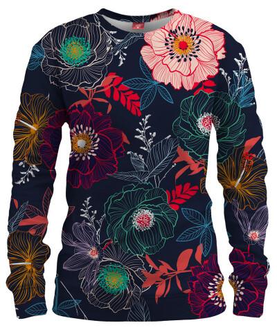FLOWERS Womens sweater