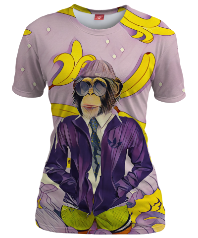 MONKEY Womens T-shirt