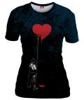 HEART PAINTER Womens T-shirt