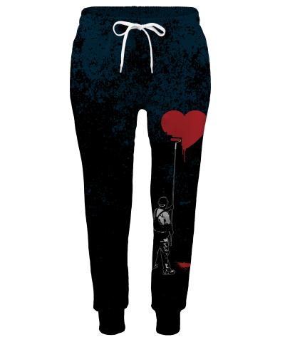 Spodnie damskie HEART PAINTER