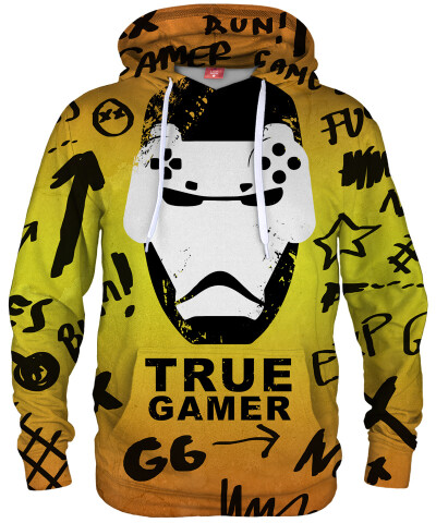 Bluza z kapturem TRUE GAMER