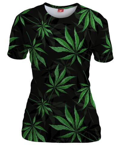 Koszulka damska CANNABIS