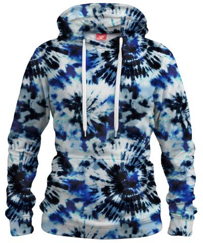 INDIGO TIE DYE Womens hoodie