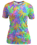PASTEL WEED Womens T-shirt