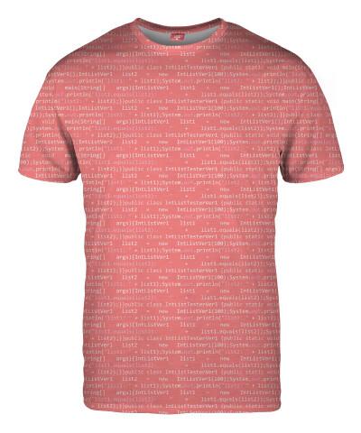 GEEK CODE PINK T-shirt