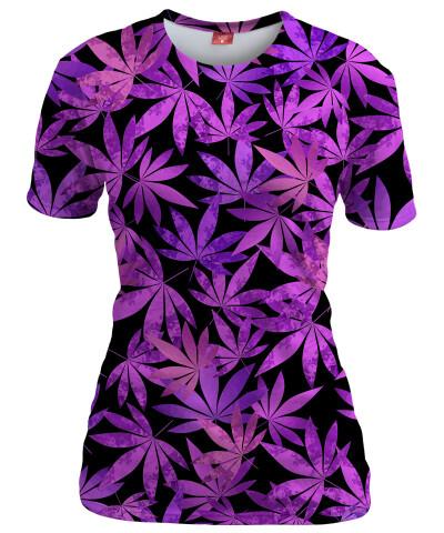 Koszulka damska PURPLE WEED