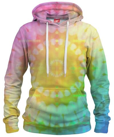 PASTEL TIE DYE Womens hoodie