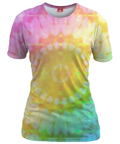 PASTEL TIE DYE Womens T-shirt