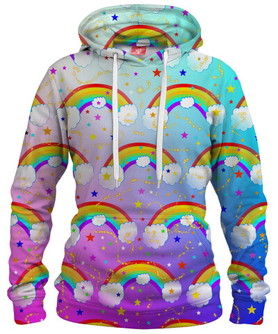 Damska bluza z kapturem RAINBOW DREAMS