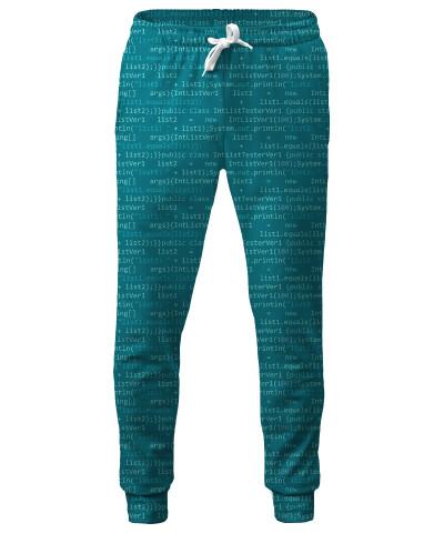 GEEK CODE BLUE Sweatpants